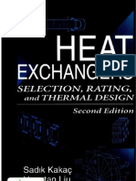 Sadik Kakac - Heat Ex Changers - Selection Rating and Thermal Desgin