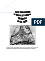 Science politique (2005-2006)