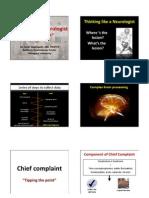 Approach to Neurological Disease-handout