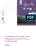 Community Involvement in and Management of Forest Fire in South East Asia