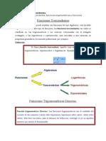 Funciones Trascendentes Funciones Trigonometricas y Funciones Exponenciales
