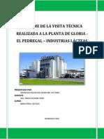Visita Tecnica a La Planta de Gloria El Pedregal-jacky