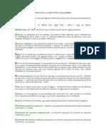 Glosarios de Terminos en La Industria Azucarera