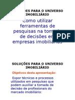 SOLUÇÕES PARA O UNIVERSO IMOBILIÁRIO