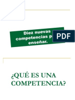 LAS  10 COMPETENCIAS Philipp Perrenoud.ppt
