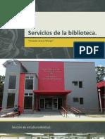 Biblioteca y Entrevista