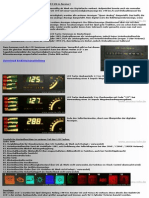 Ascona C Info Seite - LCD T...