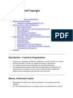 Internal Control Concepts