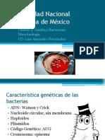 Unidad 4 Genetica Bacteriana