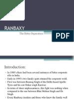 RANBAXY - the bitter separation