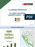PresentacionResultadosDefinitivos IV CENAGRO