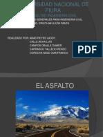 Diapositivas de Asfalto
