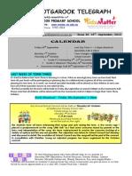 Newsletter 19th September