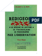 Langue Française Rédigeons 03 CM1 CM2 Palmero Felix