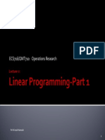 2 Linear Programming Part 1