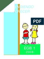 Aprendiendo a Crecer Egb 1 BUENISIMO