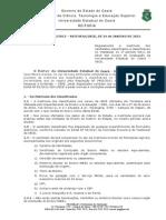 UECE 2012.1 Edital