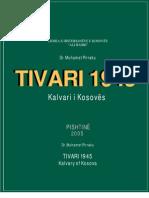 Libri mbi Masakren e Tivarit 1945 - Kalvari i Kosovës