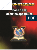 Monoteismo Base de La Doctrina Apostolica
