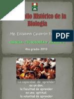 desarrollohistricodelabiologa-110202223259-phpapp01