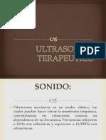 ULTRASONIDO TERAPEUTICO