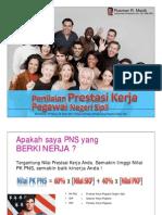 Penilaian Prestasi Kerja PNS Berdasarkan PP Nomor 46 Tahun 2011 Ttg Penilaian Prestasi Kerja PNS
