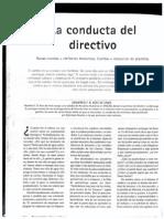 Art 12 La Conducta Del Directivo