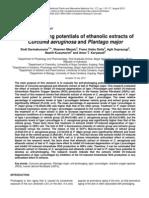 Anti-photoaging potentials of ethanolic extracts of Curcuma aeruginosa