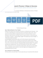 The Market Research Process - Copy
