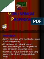 Guru Sebagai Profesion