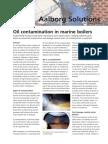 Oilcontamination in Boilers