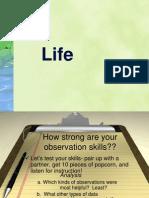 Life Unit  2013-14