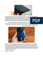 Smartphone Z30 Resmi Dirilis Oleh BlackBerry