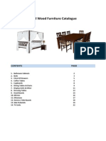 4 Furniture Solid Wood Catalogue
