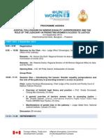 Programme Agenda_Judicial Colloquium on Gender Equality