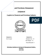 Logistics in Petroleum and Chemical Industry