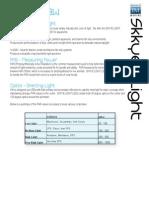 Coral PAR Requirements