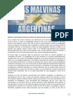 Derechos Argentinos Sobre Las Islas Malvinas