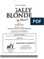 Legally Blonde The Musical Music Theatre International