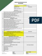 228-EHS-P-23 FA Inspección Preventiva de Seguridad