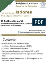 10 Analisis Lexico VI