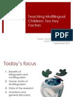 Zurich is German Teachers Switzerland TOKUHAMA Ten Key Factors 2