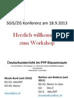 SGIS Klasse Schweiz - Früher und Heute