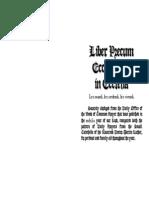 Liber Precum Ecclesiolum in Ecclesia