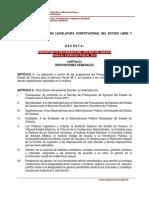 Presupuesto de Egresos Del Estado de Oaxaca
