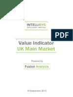 value indicator - uk main market 20130919