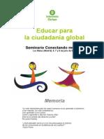 Educar Para La Ciudadania Global (2)