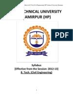 Syllabus HPTUC Civil