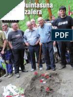Barren aldizkarian Ziardamendiko hobitik ateratzeko lanak