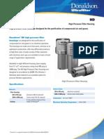 Donaldson High Pressure Air Filters